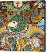 Tibetan Buddhist Mural Acrylic Print