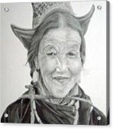 Tibetan Delight Acrylic Print