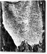 Tibetan Prayer Flag Acrylic Print