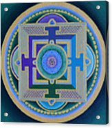 Tibetan Rose Acrylic Print