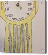 Tick Tock Acrylic Print