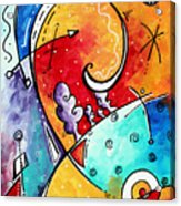 Tickle My Fancy Original Whimsical Painting Acrylic Print
