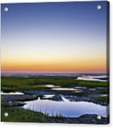 Tidal Pool Sunset Acrylic Print