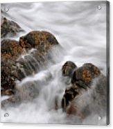 Tidal Wash, Sanna Bay, Scotland Acrylic Print