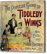 Tiddledy Winks Acrylic Print