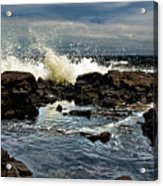 Tide Coming In Acrylic Print