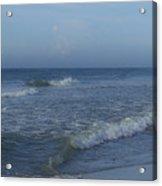 Tide Rolling In Ocean Isle Beach North Carolina Acrylic Print