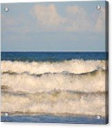 Tide Rolling To The Shores Acrylic Print