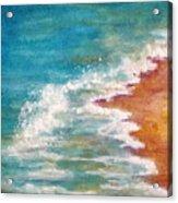 Tide Rushing In Acrylic Print