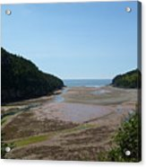 Tides Out Acrylic Print