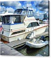Tidewater Yacht Marina 5 Acrylic Print by Lanjee Chee