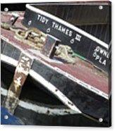 Tidy Thames Acrylic Print