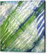 Tie Dye Art. Rainforest In Spring Acrylic Print