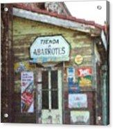 Tienda De Abarrotes Acrylic Print