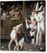 Tiepolo: Acrobats, 18th C Acrylic Print
