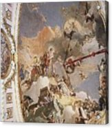Tiepolo Palacio Real The Apotheosis Of The Spanish Monarchy Giovanni Battista Tiepolo Acrylic Print