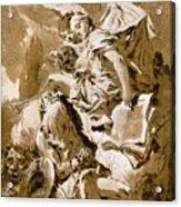 Tiepolo: Saint Jerome Acrylic Print