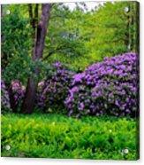 Tiergarten In Spring Acrylic Print