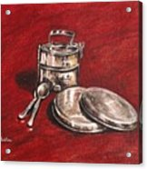 Tiffin Carrier - Still Life Acrylic Print