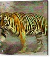Save Tiger Acrylic Print