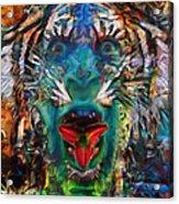 Tiger Blood Acrylic Print