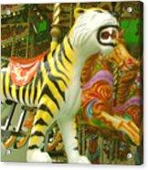 Tiger Carousel Acrylic Print