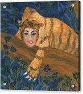Tiger Sphinx Acrylic Print