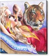 Tigeress Acrylic Print