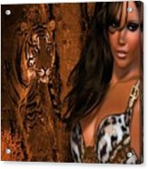 Tigress # 2 Acrylic Print