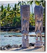 Tiki Butts Acrylic Print