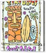 Tiki Dave's Acrylic Print