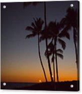 Tiki Lights Acrylic Print