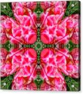 Tiki Tulip Mandala Acrylic Print