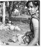 Tilak Devi 1985 Acrylic Print