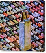 Tile Roof, Spain Acrylic Print