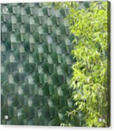 Tile Wall Of The Ringling Museum Asian Art Center Acrylic Print