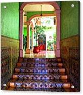 Tiled Foyer 2 Acrylic Print