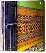 Tiled Foyer Acrylic Print