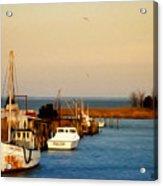 Tilghman Island Maryland Acrylic Print