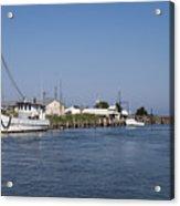 Tilghman Island Water Way Eastern Shore Of Maryland Acrylic Print