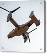 Tilt Rotor Helicopter #1 Acrylic Print