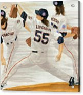 Tim Lincecum Study 2 World Series Acrylic Print