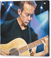 Tim Reynolds And Lights Acrylic Print