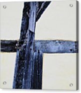 Timber Framing Detail Acrylic Print