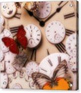Time Flies Acrylic Print