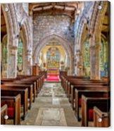 Time For Church Acrylic Print