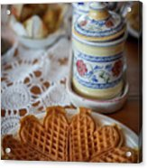 Time For Waffle Acrylic Print