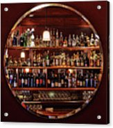 Time In A Bottle - Croce's Place Acrylic Print