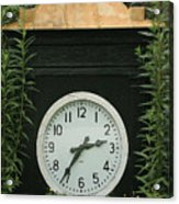 Time In The Garden Acrylic Print