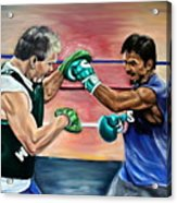 Time In The Ring Acrylic Print